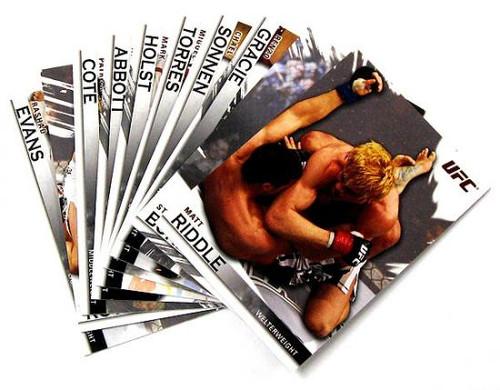 MMA Series 2010 Lot of 10 Random Base Single Cards
