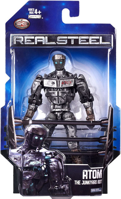 Real Steel Series 1 Deluxe Atom Action Figure [The Junkyard Bot]