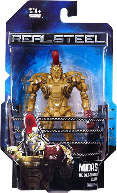 Real Steel Series 1 Deluxe Midas Action Figure [The Gold Blooded Killer]
