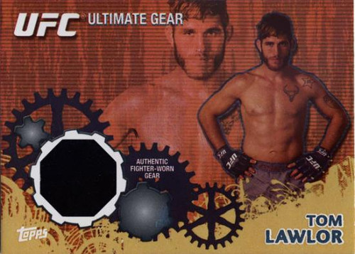 UFC 2010 Championship Gold Ultimate Gear Relic Tom Lawlor UG-TL