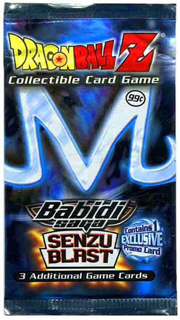 Dragon Ball Z Collectible Card Game Babidi Saga Senzu Blast Booster Pack