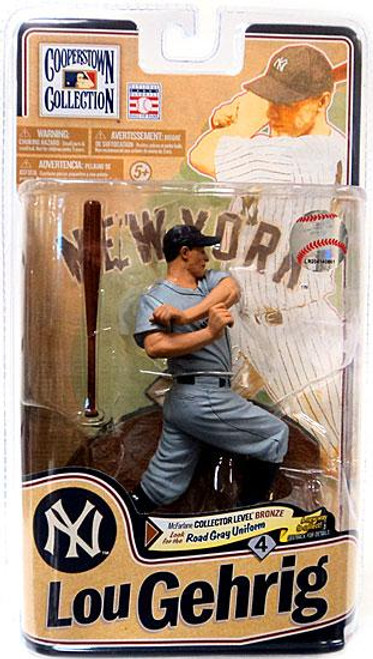 McFarlane Toys MLB Cooperstown Collection Series 8 Lou Gehrig (New York Yankees) Action Figure [Gray Uniform]