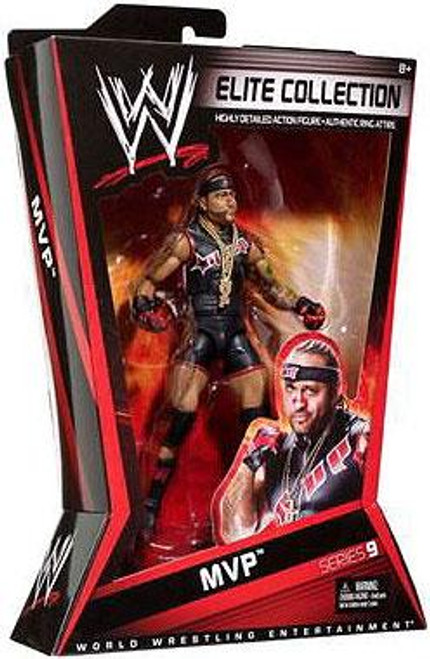 WWE Wrestling Elite Series 9 MVP Action Figure