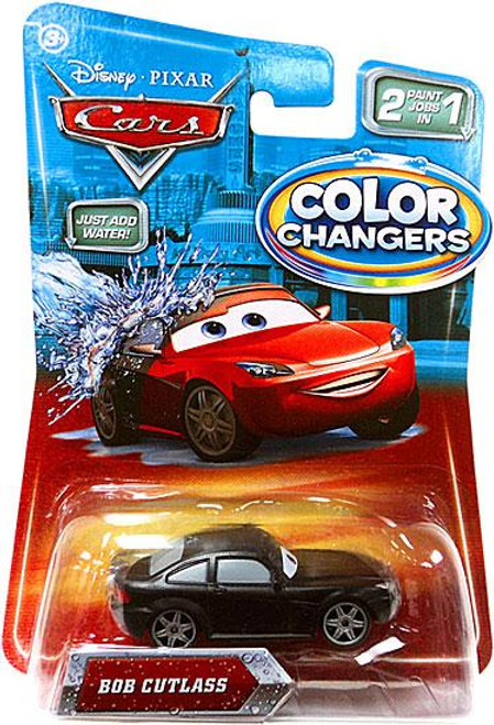 Disney Cars Color Changers Bob Cutlass Diecast Car