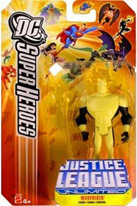 DC Justice League Unlimited Super Heroes Waverider Action Figure