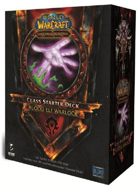 World of Warcraft Trading Card Game Summer 2011 Blood Elf Warlock Class Starter Deck [Horde]