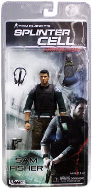 NECA Splinter Cell Sam Fisher Action Figure [With Body Armor]
