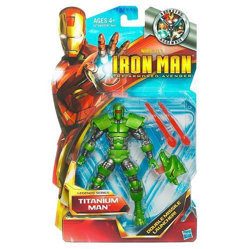 Iron Man The Armored Avenger Legends Series 6 Titanium Man Action Figure