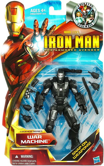 Iron Man The Armored Avenger Legends Series 6 War Machine Action Figure