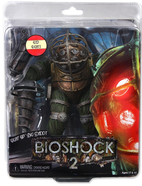 NECA Bioshock 2 Series 3 Big Daddy Action Figure [Light Up]