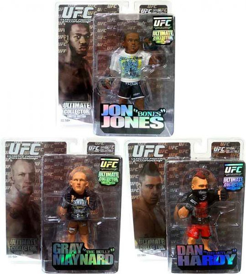 UFC Ultimate Collector Series 6 Set of 3 Action Figures [Limited Edition]