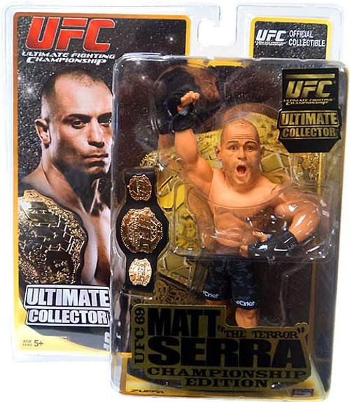 UFC Ultimate Collector Series 6 Matt Serra Action Figure [Championship Edition]