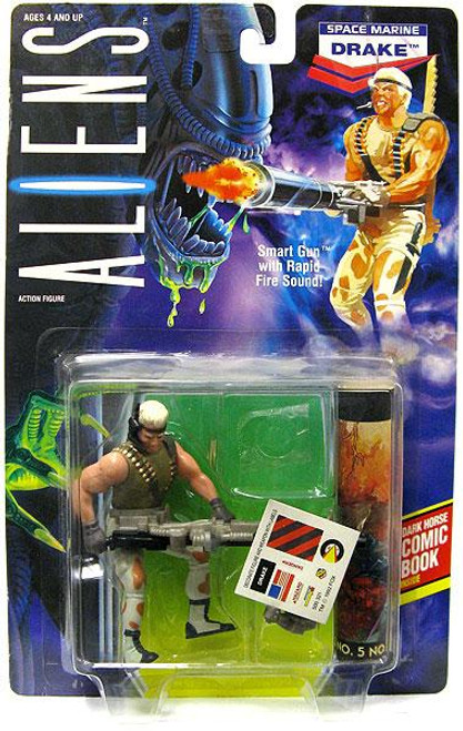 Aliens Space Marine Drake Action FIgure