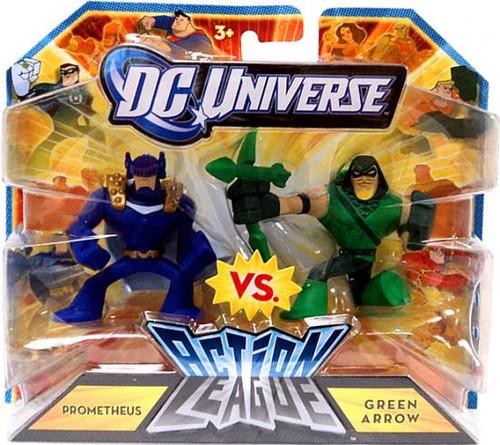 DC Universe Action League Prometheus Vs. Green Arrow 3-Inch Mini Figures