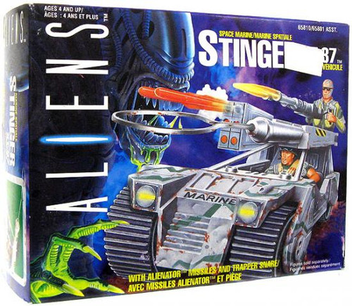 Aliens Vintage Stinger XT-37 Action Figure Vehicle