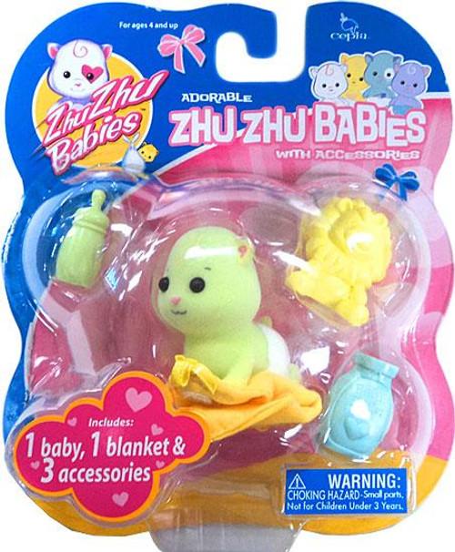 Zhu Zhu Pets Babies Shiloh Zhu Zhu Baby [Green]