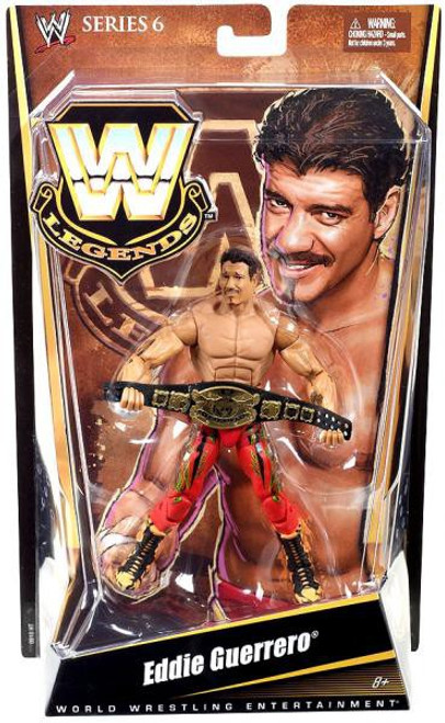 WWE Wrestling Legends Series 6 Eddie Guererro Action Figure