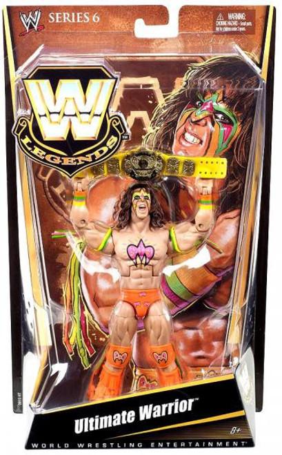WWE Wrestling Legends Series 6 Ultimate Warrior Action Figure