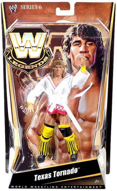 WWE Wrestling Legends Series 6 Texas Tornado Action Figure