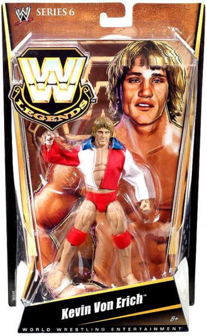 WWE Wrestling Legends Series 6 Kevin Von Erich Action Figure
