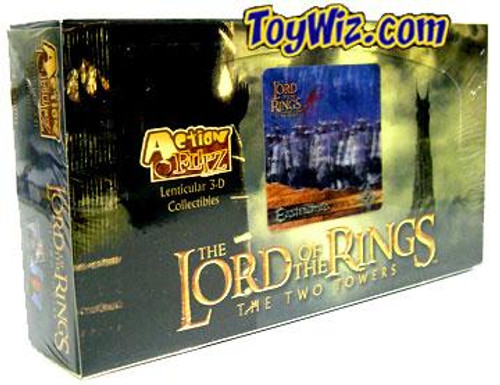 The Lord of the Rings The Two Towers wo Towers Action Flipz Card Box