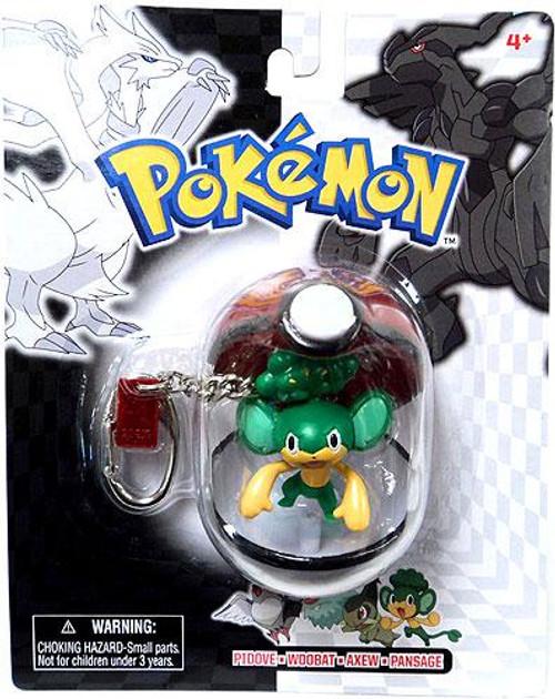 Pokemon Black & White Series 24 Pansage Keychain