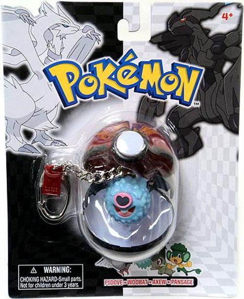 Pokemon Black & White Series 24 Woobat Keychain