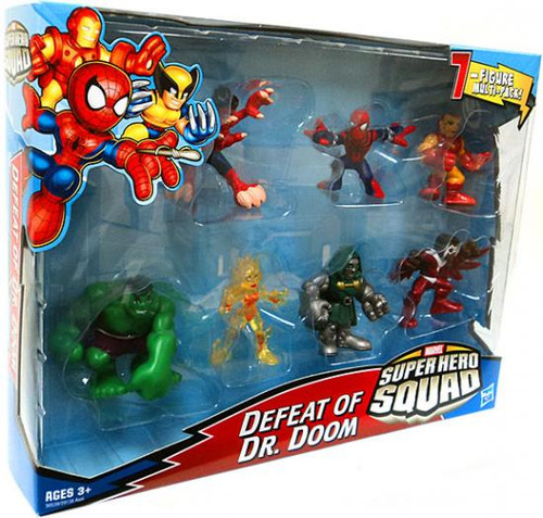 Marvel Super Hero Squad Defeat of Dr. Doom Action Figure Set