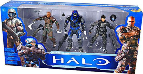 McFarlane Toys Halo 10th Anniversary Boxed Sets Fearless Leaders Action Figure Set