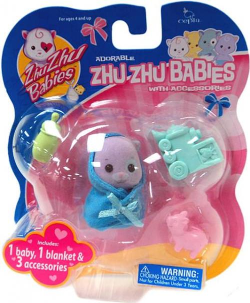 Zhu Zhu Pets Babies Half-Pint Zhu Zhu Baby [Purple]