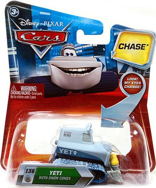 Disney Cars Lenticular Eyes Series 2 Yeti with Snow Cones Diecast Car