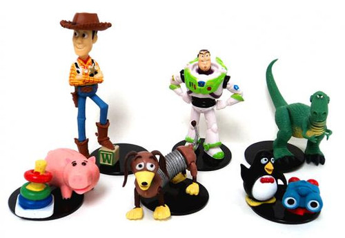 Gashapon Toy Story Set of 6 Buildable 2.5-Inch Mini Figures