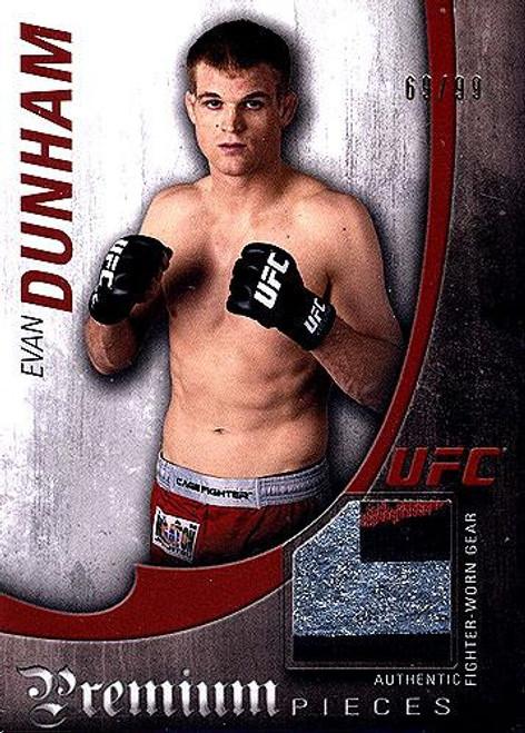 UFC 2010 Knockout Premium Relic Evan Dunham PP-ED