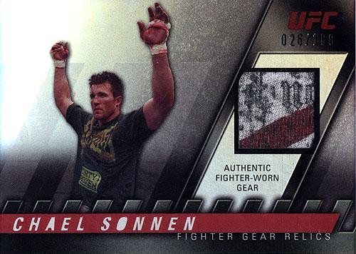 UFC 2010 Knockout Relic Chael Sonnen FG-CS