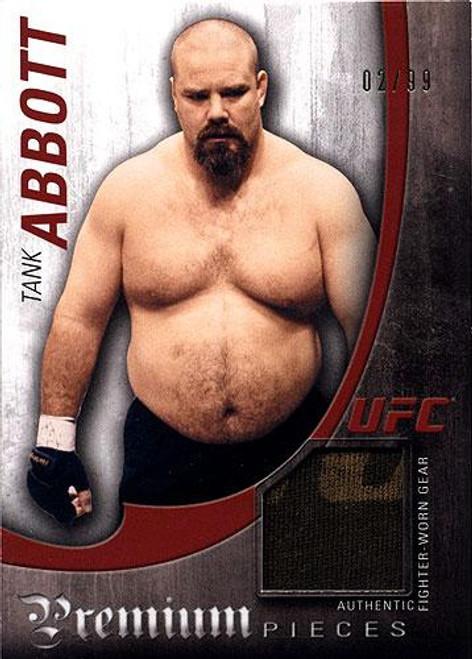 UFC 2010 Knockout Premium Relic Tank Abbott PP-TA