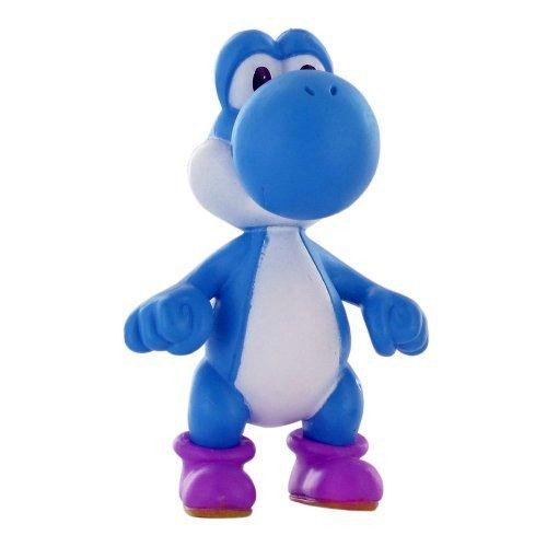 Super Mario Yoshi Mini Figure [Blue Loose]