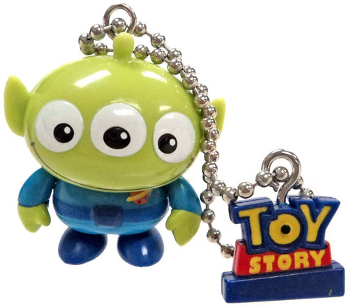 Toy Story Gashapon Squeeze Alien Swinging Figure