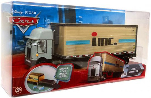 Disney Cars Movie Haulers Chet Boxkaar Diecast Car Playset