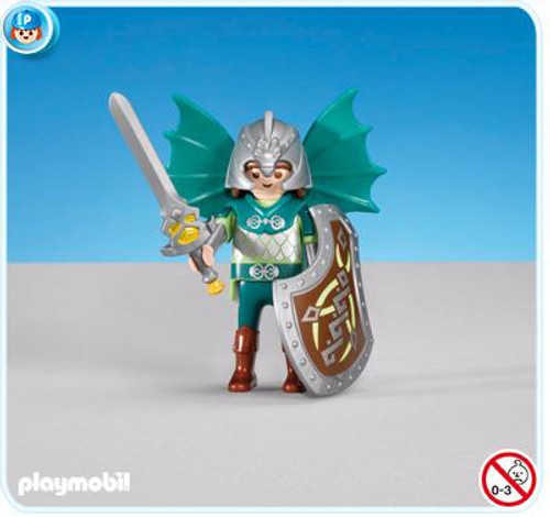 Playmobil Dragon Land Green Dragon Knights Leader Set #7972