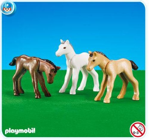 Playmobil Country 3 Foals Set #7996