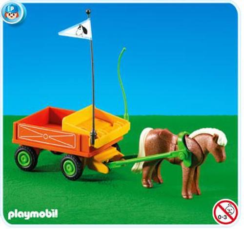 Playmobil Country Pony Wagon Set #7493