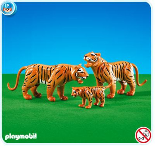 Playmobil Zoo Tigers with Cub Set #7997