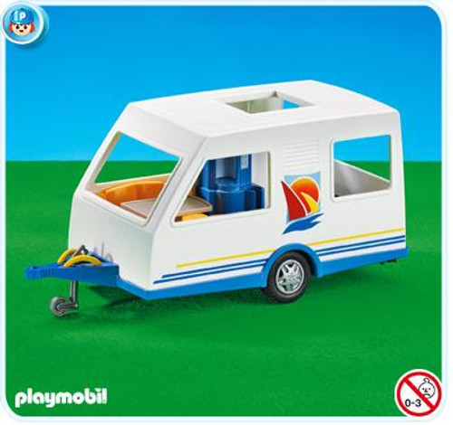 Playmobil Vacation & Leisure Camping Trailer Set #7503