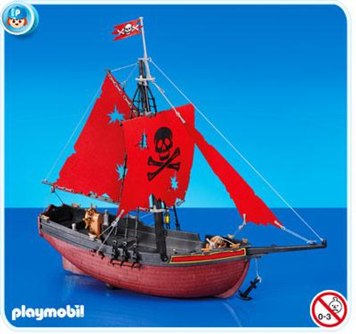 Playmobil Pirates Red Corsair Set #7518