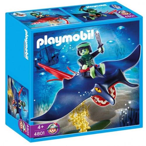 Playmobil Ghost Pirates Stingray Rider Set #4801