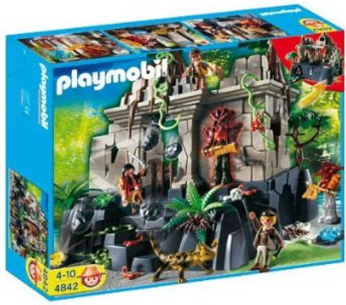 Playmobil Treasure Hunters Treasure Temple with Guards Set #4842