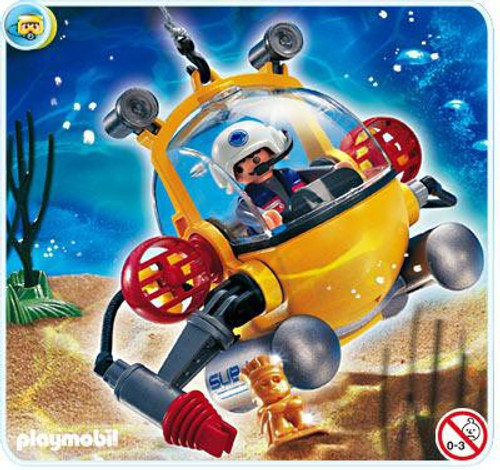 Playmobil Adventure Deep Sea Diving Bell Set #4478