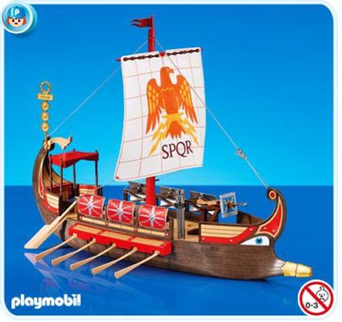 Playmobil Romans & Egyptians Roman Galley Ship Set #7512