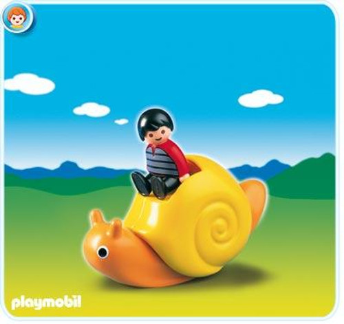 Playmobil 1.2.3 Rocking Snail Set #6755