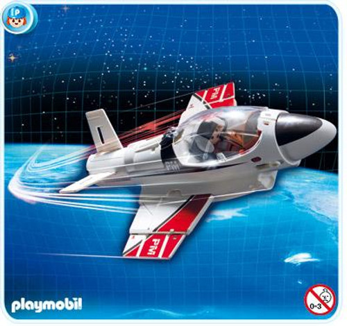 Playmobil Transport Carry Along Jet Set #4342